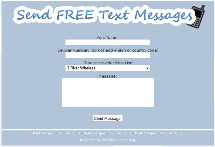 free sms free sms