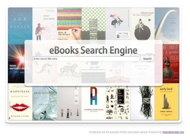 Ebook Search Engine