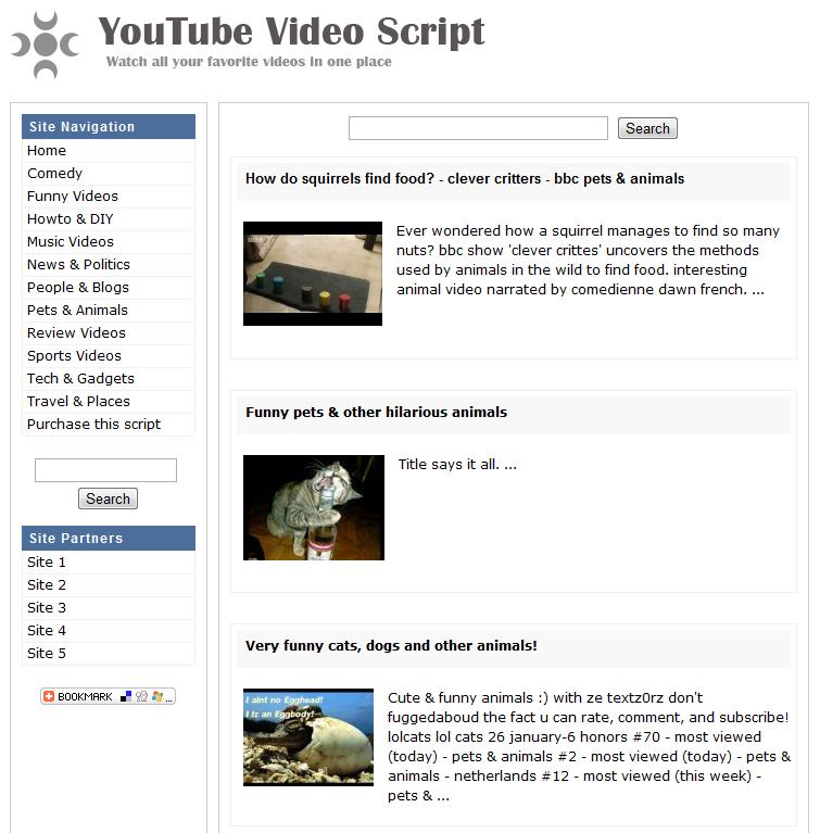 YouTube Video Script - Website Scripts - Website Scripts